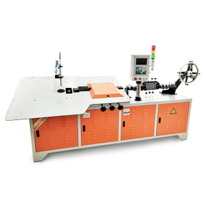 2-6mm multi function CNC automatic 2d wire straightener bender 2D wire bending machine