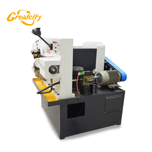 Customized CE quality high speed fully automatic three rollers machine tube thread rolling solution