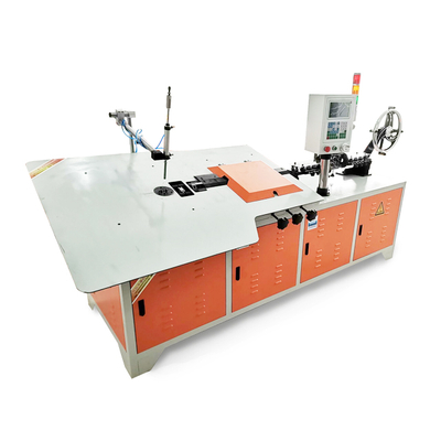 Automatic cnc 2D metal steel 3-8 mm wire bending machine