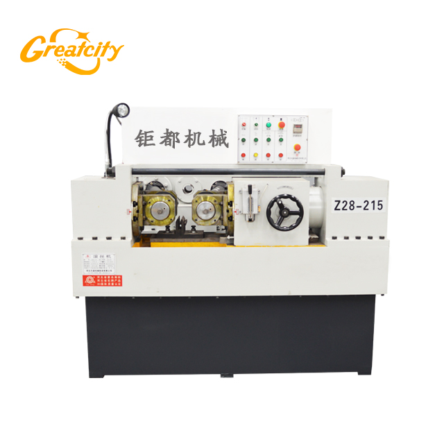 Greatcity stable quality automatic rebar thread rolling machine factory