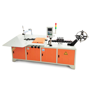 Fast dispatch high speed CNC servo 2d wire rebar bending machine in stock