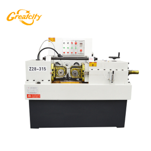 Hot Sale Construction Machinery Steel Threading Machine Rebar big Thread Rolling Machine