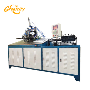 2D automatic cnc metal steel wire bending welding machine