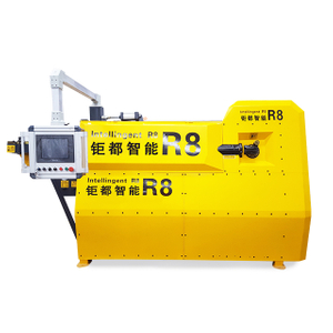 High Precision 10mm Deformed Steel Bar stirrup Bending Machine