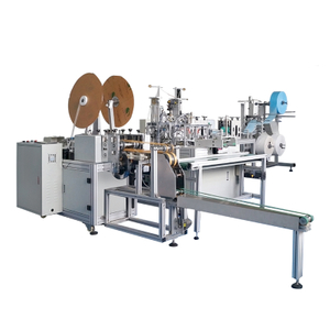 Fully Automatic 3 Ply Non Woven Folded Disposable Surgical Medical Ear-loop Type Face Mask Manufacturing Making Machine price