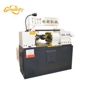 Automatic or Semi-automatic flat die Thread Rolling Machine for Pipes & radiator Nipples