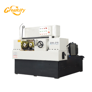 High precision heavy duty two rollers bar thread rolling machine ball screw thread rod making machine for sale