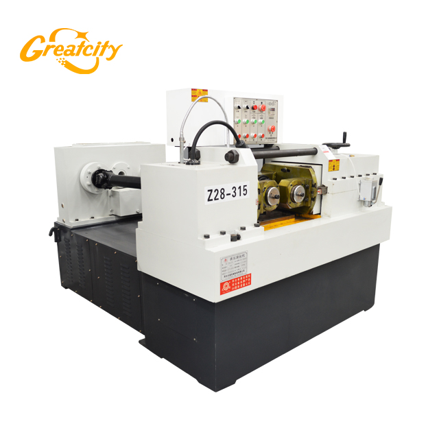 china factory auto hydraulic small thread rolling machine