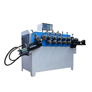 Automatic Hydraulic Steel Aluminum Wire Oval Ring Making Machine