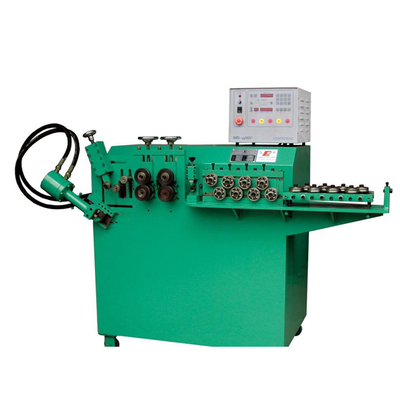 Automatic Hydraulic Fan Guard Metal Iron Carbon Steel Wire cnc rebar spiral bending machine