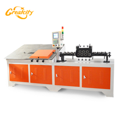 Full-automatic 2D cnc wire cutting and bending machine for S-hook manufacturer