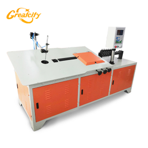 Good price customizable high speed 2d iron wire bending machine/cnc wire forming machine producer