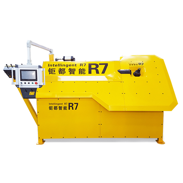 25kw motor 4-10mm CNC automatic hoop bending machine for construction