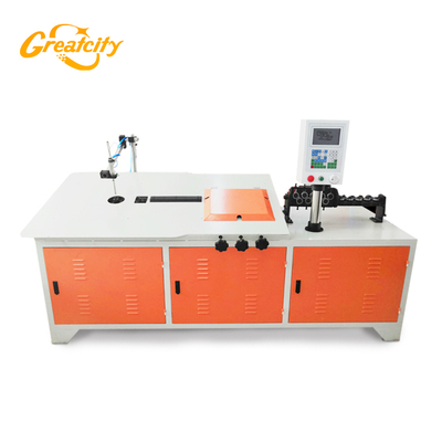 Greatcity 2-6mm multi function cnc automatic ss wire bending machine for wire basket