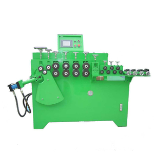 Agent price stable process hydraulic 8-16 mm.steel wire rod round circle making machine manufacturer