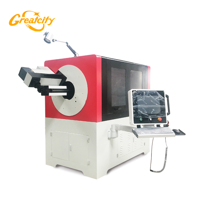 2mm 6mm wire bending 3D cnc forming machine factory price