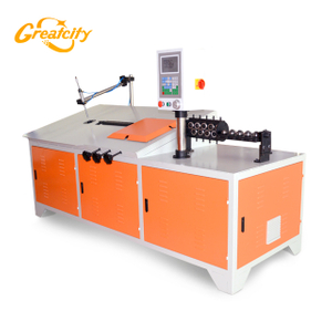 Supermarket 2D cnc steel wire bending machine / wire bender manufacturers