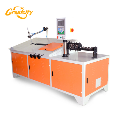 Metal processed 2d steel wire bending machine cnc