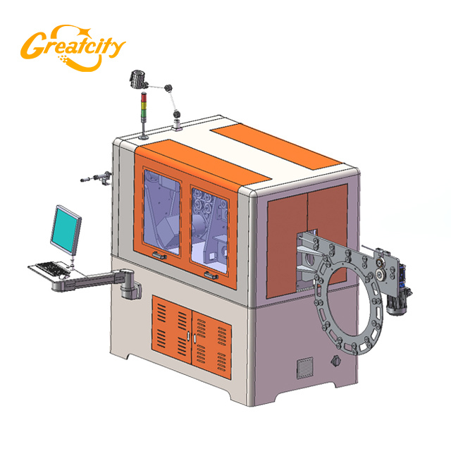 Factories price greatcity 3d cnc wire bending machine for sale