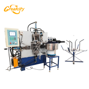 Good performance customized multi-functional automatic bucket wire handle making machine