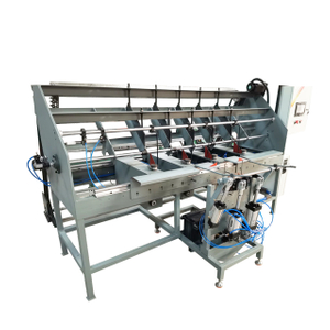 China supplier square frame bending welding machine for sale