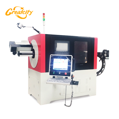 3D shape cnc automatic bending wire making machine