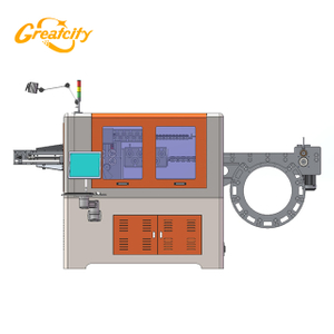 Automatic 3d cnc steel wire bender bending machine/wire forming machine