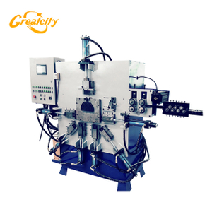 wire bucket handle making forming machine price