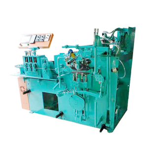 Flat hanger hook making & threading machine price