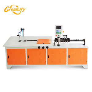 Automatic cnc electronic 2d desktop wire bender bending machine price