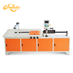 Chinese supply hydraulic cnc automatic stainless steel wire bending machine manufacturers