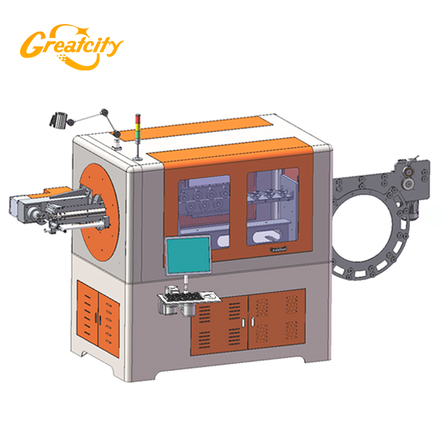 China Greatcity New Style 3d cnc wire bending machine price