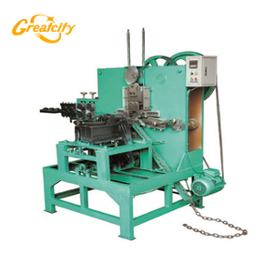 Fast and easy operating automatic Metal Chain Making Machine price
