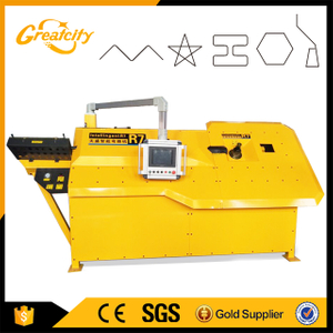4mm-10mm Hydraulic CNC Steel bar bender,rebar bending machine,automatic steel stirrup bending machine