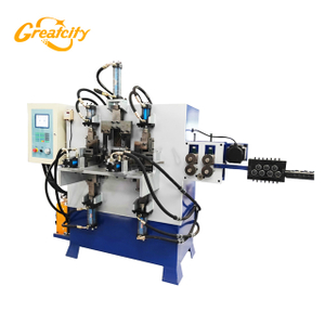 Hot Sale High Quality bucket handle making machine with gripper and end heading