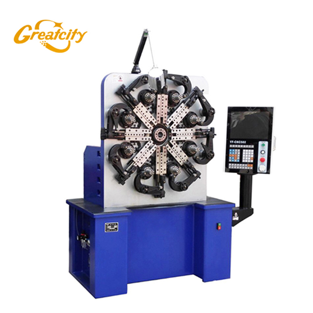 Automatic CNC Battery Spring Coiling Machine