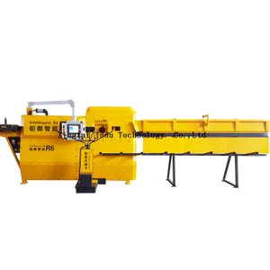 4-8mm Cutting And Bending Steel Auto Double Wire Rebar Cnc Automatic Stirrup Bending Machine Price