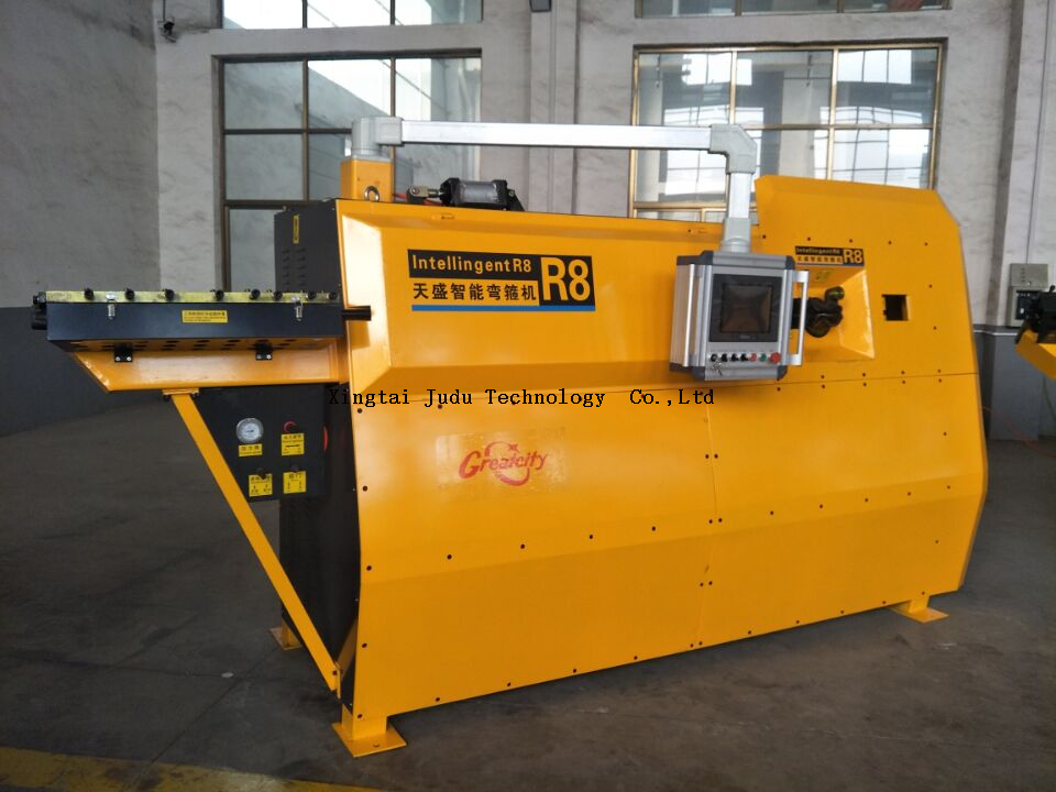 Rebar Bending Steel double Wire Bending Machine Cnc Stirrup Price