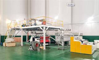 1600mm PP non woven melt blown fabric making machine price