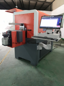7 Axis 3D CNC Heavy-duty Metal Wire Bending Forming Machine