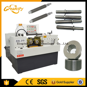 China supplier screw making machine thread rolling , thread rolling machine price