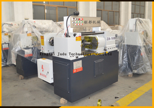 Factory Z28-150B 200KN high speed two rollers automatic rebar thread rolling machines