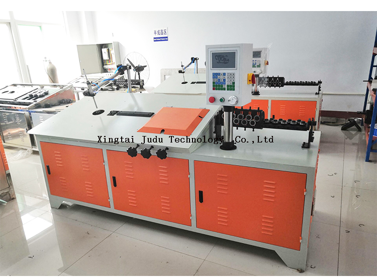 2-6mm multi function CNC automatic stainless steel iron wire shaping 2d bender 2D wire bending machine