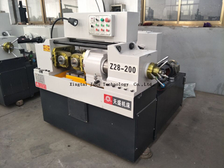 Z28-215 hydraulic thread rolling machines cylindrical , screw making machine