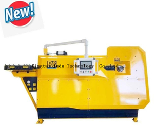 Ribbed Rebar bending machine spiral rebar automatic stirrup making machine